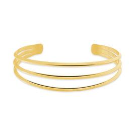 Bracelet Jonc Aglae Acier Jaune - Bracelets fantaisie Femme | Histoire d'Or