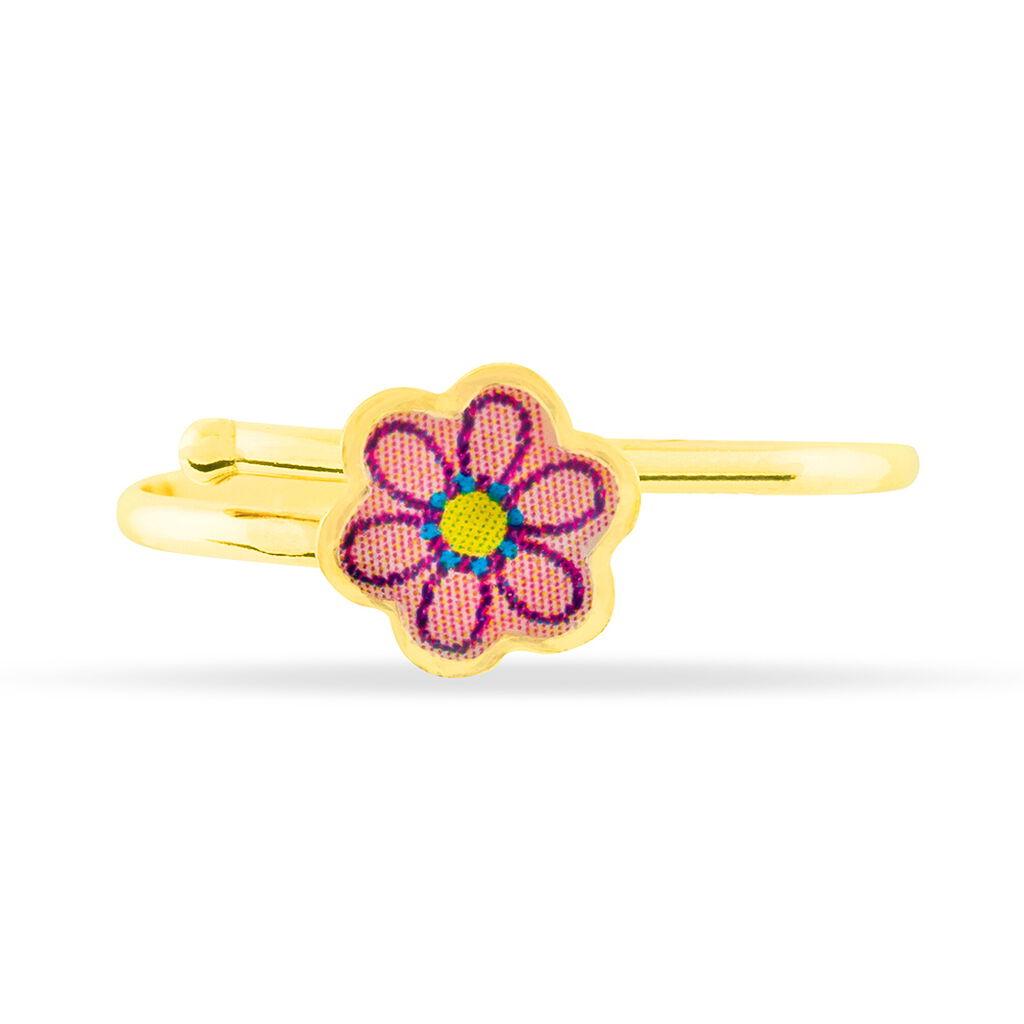 Bague Tacha Fleur Or Jaune - Bagues Enfant   Histoire d'Or