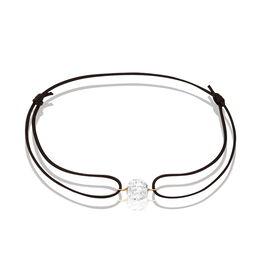 Bracelet Sibelle Or Jaune Strass - Bracelets cordon Femme | Histoire d'Or