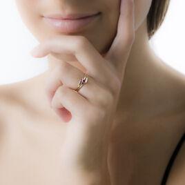 Bague Nesryne Or Jaune Rubis - Bagues solitaires Femme | Histoire d'Or
