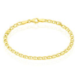 Bracelet Or Jaune Maille Marine Eunice - Bracelets Naissance Enfant   Histoire d'Or
