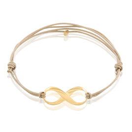 Bracelet Infini Or Jaune - Bracelets Infini Femme   Histoire d'Or