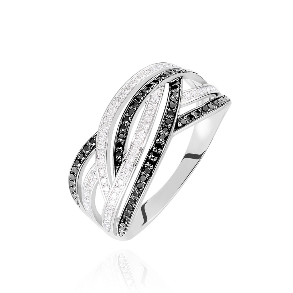 Bague Samsha Or Blanc Diamant