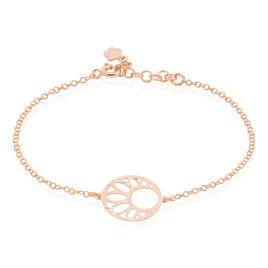 Bracelet Slorane Argent Rose - Bracelets fantaisie Femme   Histoire d'Or