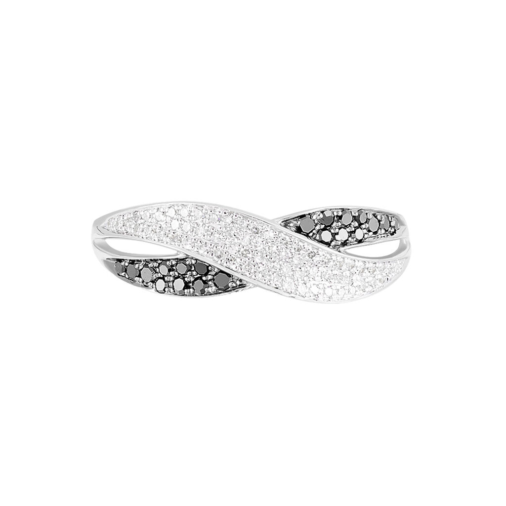 Bague Vahide Or Blanc Diamant