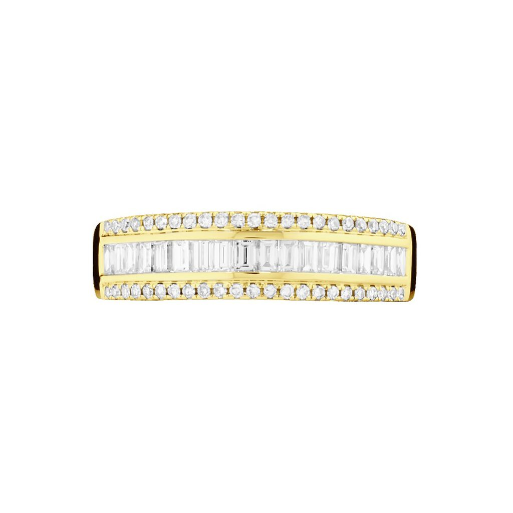 Bague Eugenie Or Jaune Diamant