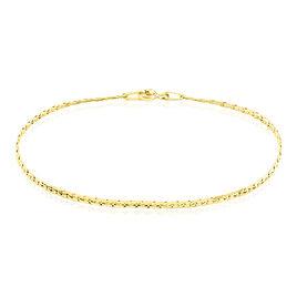 Bracelet Ivy Maille Haricot Or Jaune - Bracelets chaîne Femme | Histoire d'Or