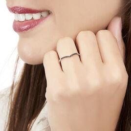 Bague Feliksa Or Blanc Diamant - Bagues avec pierre Femme | Histoire d'Or