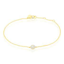 Bracelet Adelisa Or Jaune Diamant - Bijoux Femme   Histoire d'Or