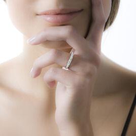 Bague Kelsy Argent Blanc Oxyde De Zirconium - Bagues avec pierre Femme | Histoire d'Or