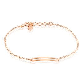 Bracelet Nouheila Argent Rose - Bracelets fantaisie Femme   Histoire d'Or