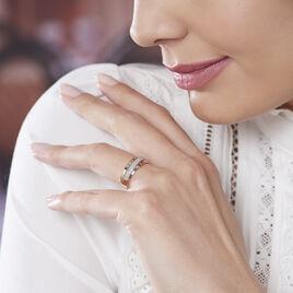 Bague Tima Or Jaune Diamant - Bagues avec pierre Femme   Histoire d'Or