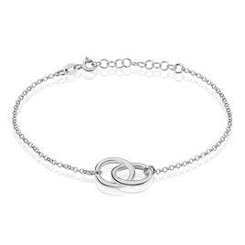 Bracelet Helonna Argent Blanc - Bracelets fantaisie Femme | Histoire d'Or