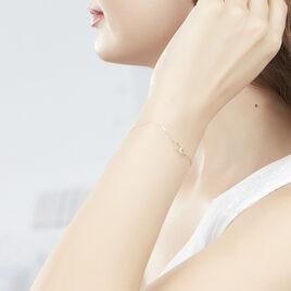 Bracelet Eleno Or Jaune - Bracelets Coeur Femme   Histoire d'Or