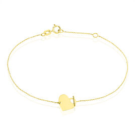 Bracelet Tyfen Or Jaune - Bracelets Coeur Femme | Histoire d'Or
