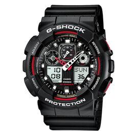 Montre Casio G-shock Black & Red Noir - Montres Homme | Histoire d'Or