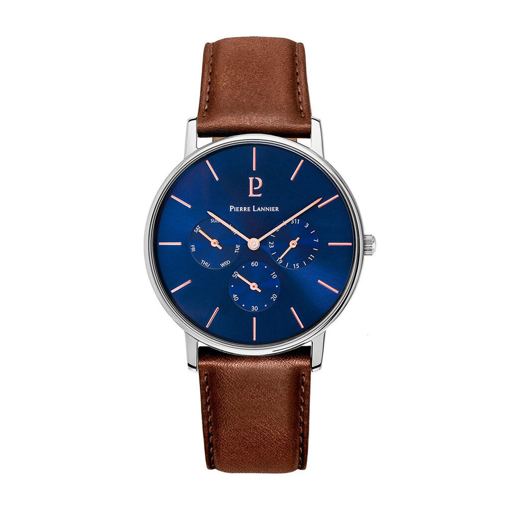Montre Pierre Lannier Collection Cityline Bleu