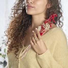 Bague Laria Plaque Or Jaune - Bagues fantaisie Femme | Histoire d'Or