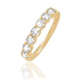 Alliance Eloise Or Jaune Diamant - Alliances Femme | Histoire d'Or