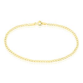Bracelet Fermine Maille Gourmette Or Jaune - Bracelets Naissance Enfant | Histoire d'Or