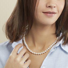 Collier Ikbal Or Jaune Perle De Culture - Sautoirs Femme | Histoire d'Or