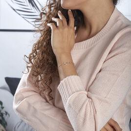Bracelet Lucette Or Bicolore - Bijoux Femme   Histoire d'Or