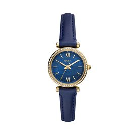 Montre Fossil Carlie Mini Bleu - Montres Femme   Histoire d'Or