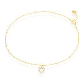 Chaine De Cheville Or - Chaînes de cheville Femme | Histoire d'Or