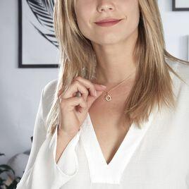 Collier Adelinda Plaque Or Jaune - Colliers fantaisie Femme | Histoire d'Or