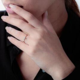 Bague Solitaire Victoria Or Jaune Diamant - Bagues solitaires Femme   Histoire d'Or