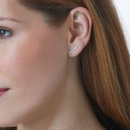 Bijoux D'oreilles Yaeleae Or Jaune Oxyde De Zirconium - Ear cuffs Femme   Histoire d'Or