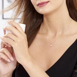 Collier Princesse Or Rose Diamant - Bijoux Femme   Histoire d'Or