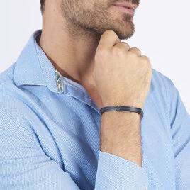 Bracelet Sebastien Acier Blanc - Bracelets fantaisie Homme | Histoire d'Or