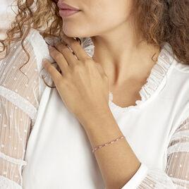 Bracelet Zoelia Plaque Or Jaune Perle D'imitation - Bijoux Femme | Histoire d'Or
