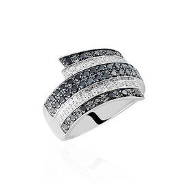 Bague Heldea Or Blanc Diamant - Bagues avec pierre Femme   Histoire d'Or