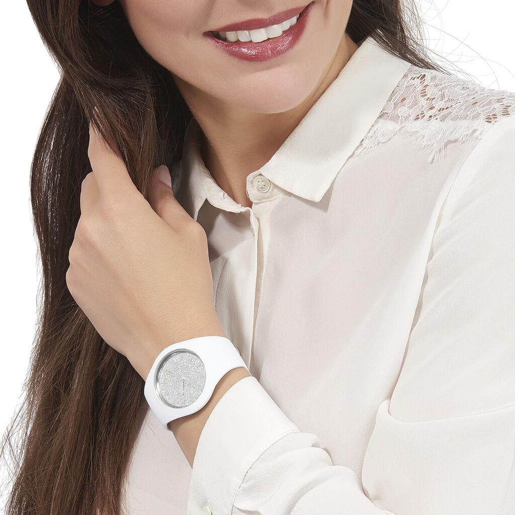 Montre Ice Watch Glitter Argent - Montres sport Femme   Histoire d'Or