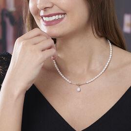 Collier Stella-rose Or Jaune Perle De Culture - Bijoux Femme | Histoire d'Or