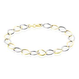 Bracelet Jeanne Or Bicolore - Bijoux Femme | Histoire d'Or