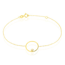 Bracelet Kimly Or Jaune Oxyde De Zirconium - Bijoux Femme | Histoire d'Or