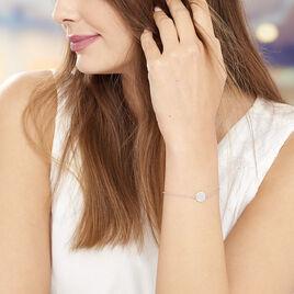 Bracelet Tam Argent Blanc - Bracelets fantaisie Femme   Histoire d'Or