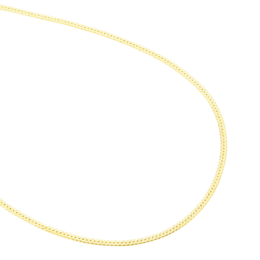 Collier Doline Maille Anglaise Or Jaune - Chaines Femme | Histoire d'Or