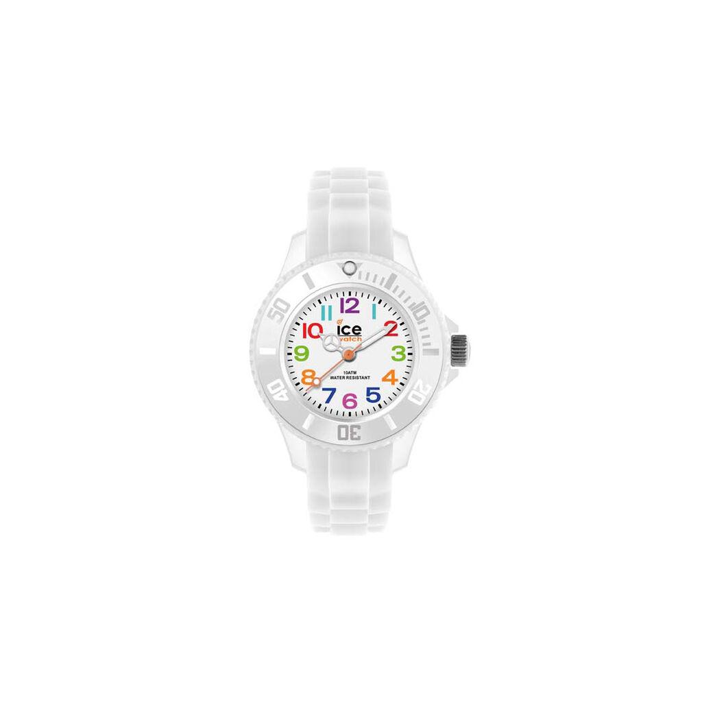 Montre Ice Watch Mini Blanc - Montres Enfant   Histoire d'Or