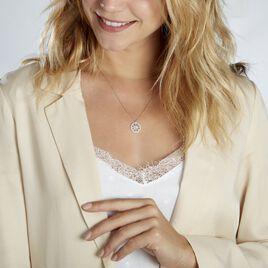 Collier Brunilda Argent Blanc Oxyde De Zirconium - Colliers fantaisie Femme | Histoire d'Or