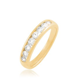 Alliance Giulia Or Jaune Diamant - Alliances Femme   Histoire d'Or