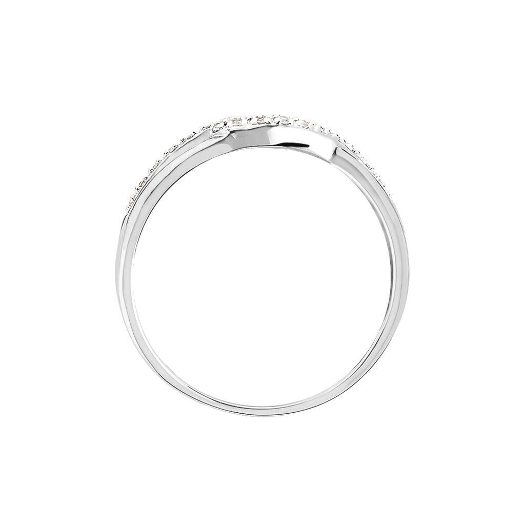 Bague Osanna Or Blanc Diamant - Bagues avec pierre Femme | Histoire d'Or