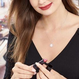 Collier Blanca Argent Blanc Perle De Culture - Colliers Etoile Femme | Histoire d'Or