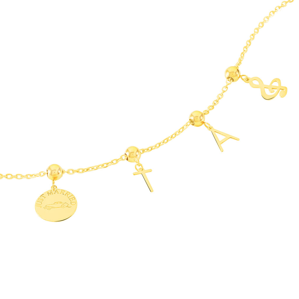 Charms Sunay Or Jaune - Charms Femme | Histoire d'Or
