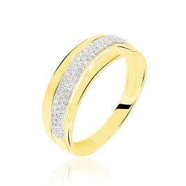 Bague Tima Or Jaune Diamant - Bagues avec pierre Femme | Histoire d'Or