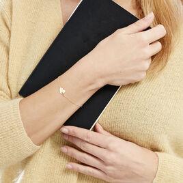 Bracelet Edosa Or Jaune - Bracelets Coeur Femme | Histoire d'Or