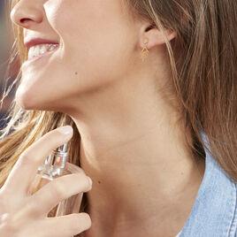Bijoux D'oreilles Ilanna Fleur Or Jaune - Ear cuffs Femme | Histoire d'Or